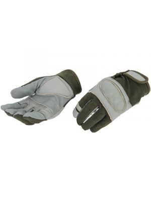UK Arms Airsoft Tactical Hard Knuckle Gloves Medium - SAGE