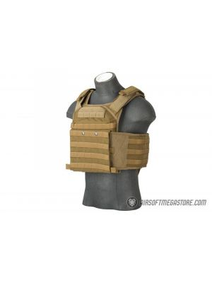 Flyye Industries MOLLE FAPC Gen2 Plate Carrier w/ MOLLE Cummerbund - COYOTE BROWN
