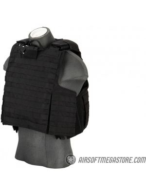 Flyye Industries 1000D Maritime Force Recon Vest - LRG) BLACK