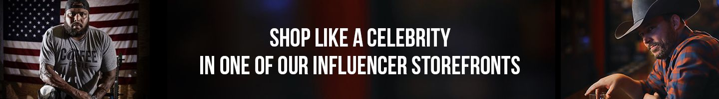 Influence store ad banner